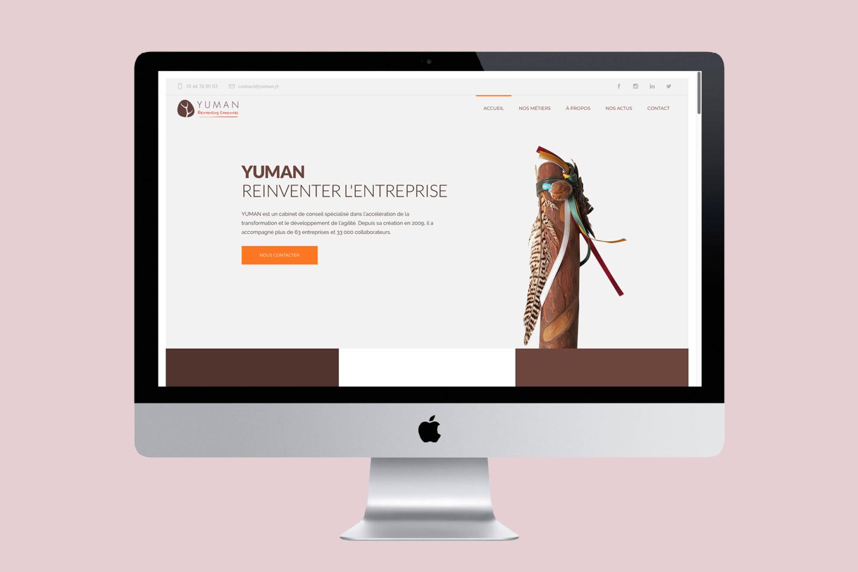 YUMAN Website 2018
